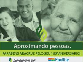 Parabéns Aracruz pelos seu 166 aniversário!